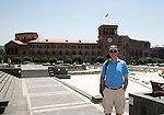 St Johnstone UEFA Cup Qualifyer, Armenia...01.07.15<br /> Gordon Bannerman pictured in the Armenian capital Yerevan ahead of tomorrow nights game against Alaskert FC.<br /> Picture by Graeme Hart.<br /> Copyright Perthshire Picture Agency<br /> Tel: 01738 623350  Mobile: 07990 594431