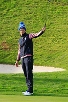 Anna Van Dam of Team Europe on the 2nd green during Day 2 Foursomes at the Solheim Cup 2019, Gleneagles Golf CLub, Auchterarder, Perthshire, Scotland. 14/09/2019.<br /> Picture Thos Caffrey / Golffile.ie<br /> <br /> All photo usage must carry mandatory copyright credit (© Golffile | Thos Caffrey)