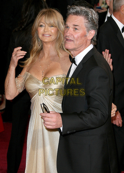 02 March 2014 - Hollywood, California - Goldie Hawn, Kurt Russell. 86th Annual Academy Awards held at the Dolby Theatre at Hollywood &amp; Highland Center. <br /> CAP/ADM<br /> &copy;AdMedia/Capital Pictures