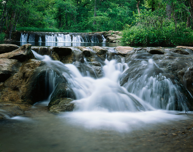 Cascades; Travertine Creek; Chickasaw National Recreation Area; Oklahoma