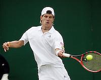 26-6-06,England, London, Wimbledon, first round match, Melzer