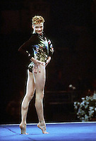 July 26, 1998; New York, NY, USA; Artistic gymnast Svetlana Khorkina of Russia performs gala exhibition at 1998 Goodwill Games New York. Copyright 1998 Tom Theobald