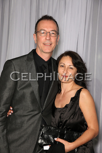 JOE KLOTZ, GISELA KLOTZ. Arrivals to the 60th Annual ACE Eddie Awards Ceremony at the Beverly Hilton Hotel, Beverly Hills, CA, USA. February 14, 2010.