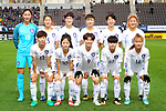 South Korea team group line-up (KOR), <br /> DECEMBER 11, 2017 - Football / Soccer : <br /> EAFF E-1 Football Championship 2017 Women's Final match <br /> between North Korea 1-0 South Korea <br /> at Fukuda Denshi Arena in Chiba, Japan. <br /> (Photo by Naoki Nishimura/AFLO)