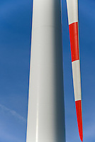 GERMANY Brunsbuettel, Repower wind turbine/ DEUTSCHLAND, Windkraftanlage Repower