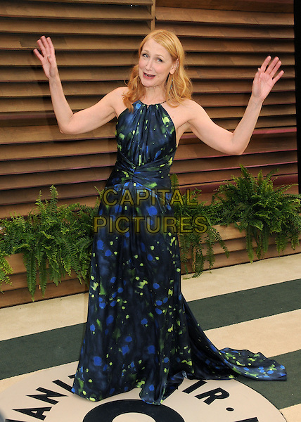 02 March 2014 - West Hollywood, California - Patricia Clarkson. 2014 Vanity Fair Oscar Party following the 86th Academy Awards held at Sunset Plaza.  <br /> CAP/ADM/BP<br /> &copy;Byron Purvis/AdMedia/Capital Pictures