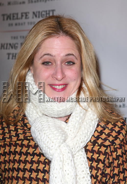 Lisa Lambert attends the Broadway Opening Night Performance of 'Twelfth Night' at the Belasco Theatre on November 10, 2013 in New York City.