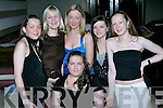 HAPPY BIRTHDAY: Emma Moriarty, Kevin Barry's Villas (seated centre), celebrating her 18th birthday with friends in Galley's Bar & Restaurant on Saturday evening. Standing l-r: Elizabeth Lawlor, Stacey Wallace, Sinead Devine, Deirdre Kennelly and Louise Barrett.   Copyright Kerry's Eye 2008