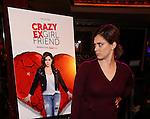 Rachel Bloom and Adam Schlesinger attend the 'Crazy Ex-Girlfriend' Live Event  at the Feinstein's/54 Below on November 3, 2016 in New York City.