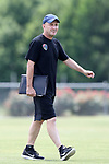 CARY, NC - JUNE 09: Paul Riley. The North Carolina Courage held a training session on June 9, 2017, at WakeMed Soccer Park Field 5 in Cary, NC.