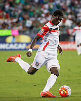 CHARLOTTE, NORTH CAROLINA - July 15, 2015: The 2015 Concacaf Gold Cup Mexico vs Trinidad and Tobago at Bank of America Stadium.  Final score Mexico 4, Trinidad and Tobago 4.