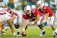 Tom Kolich during Stanford's 49-17 loss to USC on November 9, 2002 at Stanford Stadium.<br />