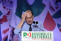Assemblea Nazionale PD, Zingaretti segretario