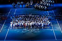 Rotterdam, The Netherlands, 15 Februari 2020, ABNAMRO World Tennis Tournament, Ahoy,<br /> Openingsceremonie.<br /> Photo: www.tennisimages.com