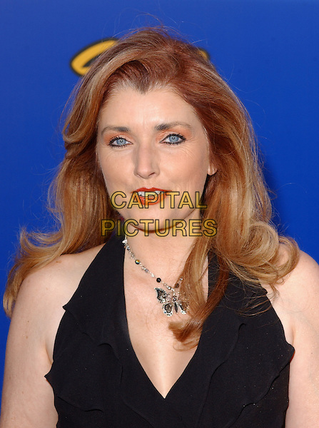 MORGAN BRITTANY .The 4th Annual Taurus World Stunt Awards held at The Paramount Picture Studios in Los Angeles California .May 16,2004.headshot, portrait, butterfly necklace, jewellery.www.capitalpictures.com.sales@capitalpictures.com.©Capital Pictures