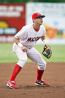 June 29th, 2007:  David Carpenter of the Batavia Muckdogs, Short-Season Class-A affiliate of the St. Louis Cardinals at Dwyer Stadium in Batavia, NY.  Photo by:  Mike Janes/Four Seam Images