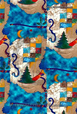 Hans, GIFT WRAPS, Christmas Santa, Snowman, paintings+++++,DTSC4111005056AUS,#GP#,#X#