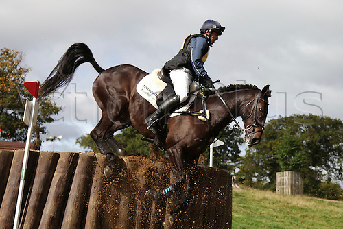 25.09.2010 Equestrian Aske Horse trials, North Yorkshire, UK. . Ben Hobday riding Malin Head Clover.