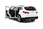 Car images of a 2014 Hyundai Santa Fe GLS 5 Door SUV Doors