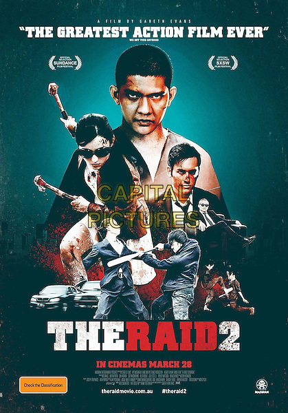 POSTER ART<br /> in The Raid 2 (2014) <br /> (The Raid 2: Berandal)<br /> *Filmstill - Editorial Use Only*<br /> CAP/FB<br /> Image supplied by Capital Pictures