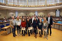 Ehrung RRK Rüsselsheim mit Oberbürgermeister Patrick Burghardt und Sportamtsleiter Robert Neubauer