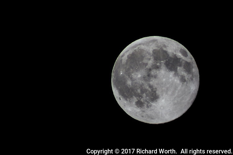The full buck moon, July 8, 2017,