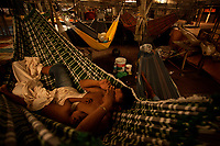 Imigrantes venezuelanos chegam em Bel&eacute;m.<br /> Venezuelanos em busca de melhores condi&ccedil;&otilde;es de vida chegam em Bel&eacute;m, buscando abrigo no mercado do Ver-o-Peso.<br /> Bel&eacute;m, Par&aacute;, Brasil.<br /> &nbsp;&copy;Maycon Nunes