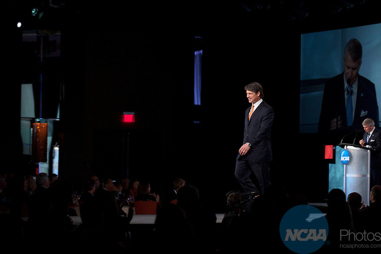 13 JAN 2011: The NCAA Honors Celebration inside the Grand Hyatt during the annual NCAA Convention held in San Antonio,TX. .Pictured: Tim Green.(Joshua Duplechian/NCAA Photos).