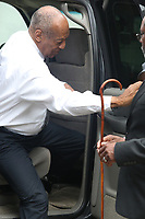 NORRISTOWN, PA - JUNE 17 :  Bill Cosby arrives to the Montgomery County Courthouse on the eleventh day of his sexual assault trial and the fifth full day of jury deliberation on June 17, 2017 in Norristown, Pennsylvania.  photo credit  Star Shooter/MediaPunch