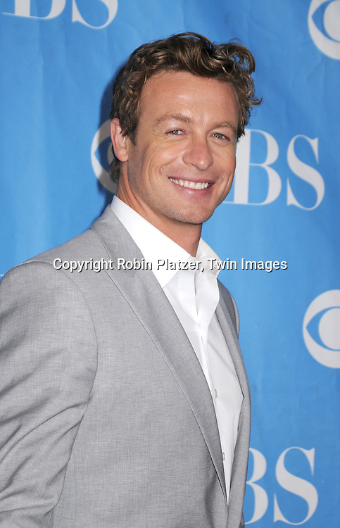 "Simon Baker, star of ""The Mentalist"""