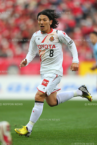 Jungo Fujimoto (Grampus), .March 9, 2013 - Football / Soccer : .2013 J.LEAGUE Division 1, 2nd Sec .match between Urawa Reds 1-0 Nagoya Grampus .at Saitama Stadium 2002, Saitamai, Japan. .(Photo by Daiju Kitamura/AFLO SPORT) [1045]