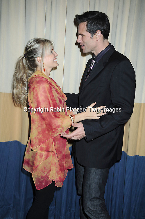 Terri Conn and Austin Peck attending the 26th Annual Starlight Children's Foundation Gala on March 16, 2011 at The Marriott Marquis Hotel in New York City.