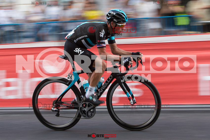 Peter  Kennaaugh during the last stage or La Vuelta of Spain in Madrid. September 10, 2016. (ALTERPHOTOS/Rodrigo Jimenez) NORTEPHOTO.COM