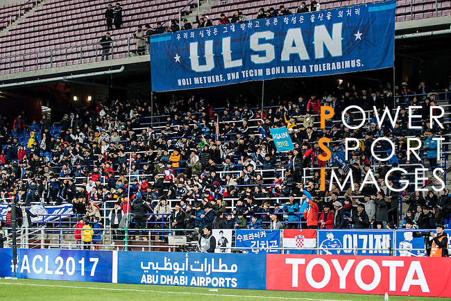 Ulsan Hyundai FC (KOR) vs Kitchee SC (HKG) during their AFC Champions League 2017 Playoff Stage at the Ulsan Munsu Football Stadium on 07 February 2017 in Ulsan, South Korea. Photo by Chung Yan Man / Power Sport Images