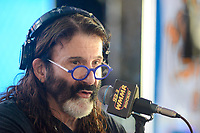WMMR's Pierre Robert broadcasts from Camp Out for Hunger Thursday, November 30, 2017 at Xfinity Live! in Philadelphia, Pennsylvania. (Photo by William Thomas Cain/Cain Images)