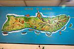 Molokai Map In Kanemitsu Bakery