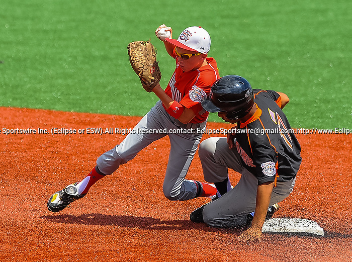 Scenes from the Cal Ripken Babe Ruth World Series in Aberdeen, Maryland on August 12, 2012