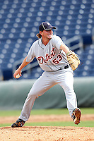 Detroit Tigers pitcher Matt Little #53 during an Instructional League game against the Philadelphia Phillies at Bright House Networks Field on October 10, 2011 in Clearwater, Florida.  (Mike Janes/Four Seam Images)