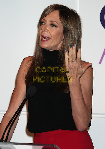 5 November 2013 - Beverly Hills, California - Allison Janney. People's Choice Awards 2014 Nominations Press Conference Held at The Paley Center for Media<br /> CAP/ADM/RE<br /> &copy;RE/AdMedia/Capital Pictures