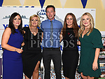 Susan Smith, Sharon Reilly, Peter Ryan, Aoife Loughran and Michelle Campbell at the Team Carrie presentation night held in the Grove hotel Dunleer. Photo:Colin Bell/pressphotos.ie