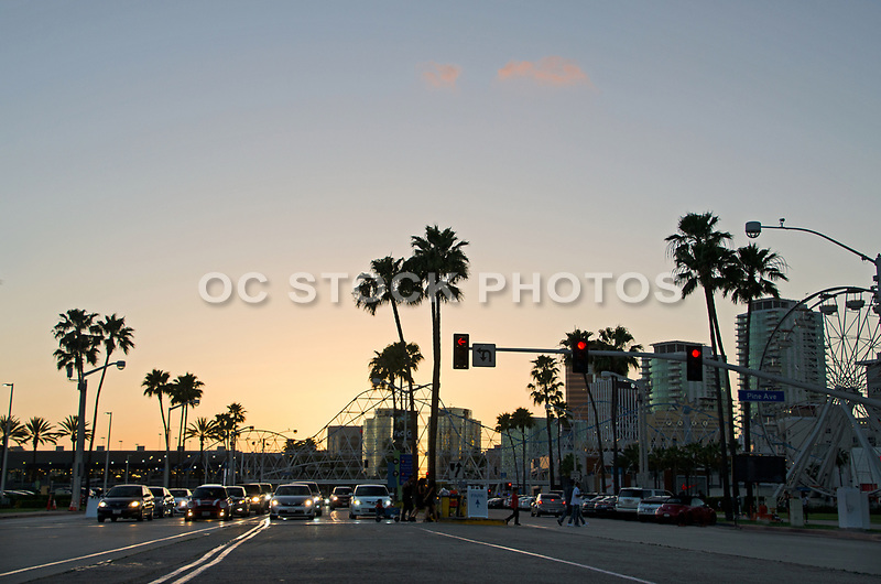 Long Beach at Pine Ave and Shoreline Dr.