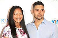 CLVER CITY - AUG 4: Alejandra Valdez, Wilmer Valderrama at Kind Los Angeles: Coming Together for Children Alone at Bolon at Helms Design Center on August 4, 2018 in Culver City, CA