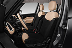 Front seat view of 2016 Fiat 500L Living Popstar 5 Door Mini MPV Front Seat  car photos