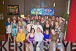 Darren Cahillane, Keel, Castlemaine, pictured with his girlfriend Catriona O'Sullivan, brother Shane, parents Margaret and John, family and friends as he celebrated his 21st birthday in Club Soda in Killorglin on Friday night.....   Copyright Kerry's Eye 2008