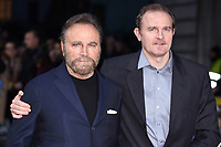 "Franco Nero and son<br /> arrives for the premiere of ""The Time of Their Lives"" at the Curzon Mayfair, London.<br /> <br /> <br /> ©Ash Knotek  D3239  08/03/2017"