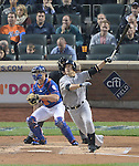Masahiro Tanaka (Yankees),<br /> MAY 14, 2014 - MLB :<br /> Masahiro Tanaka of the New York Yankees bats during the Major League Baseball game against the New York Mets at Citi Field in Flushing, New York, United States. (Photo by AFLO)