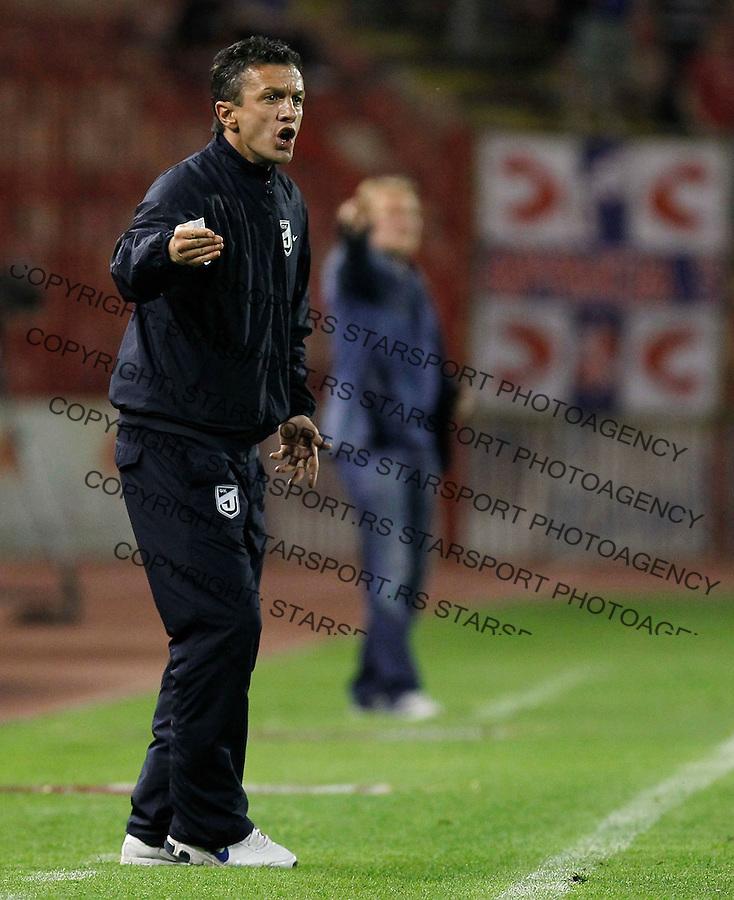 Fudbal, Jelen super liga, sezona 2011/12.Crvena Zvezda Vs. Jagodina.Jelen Super.Belgrade, 28.04.2012..foto: Srdjan Stevanovic/Starsportphoto ©
