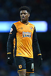 Hull's Chuba Akpom - Manchester City vs Hull City - Capital One Cup - Etihad Stadium - Manchester - 01/12/2015 Pic Philip Oldham/SportImage