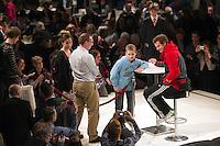 2011-02-08, Tennis, Rotterdam, ABNAMROWTT,   Murray, Handtekeningsessie.