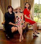 Cynthia Allshouse, Cynthia Petrello and Elizabeth DeLuca at the Hats Off to Mothers luncheon at River Oaks Country Club Tuesday  April 01,2008.(Dave Rossman/For the Chronicle)